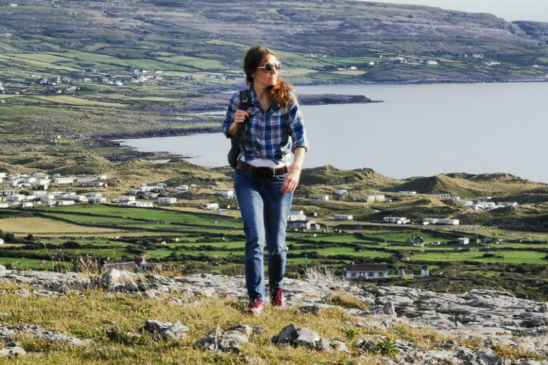 Holiday postcard from County Clare