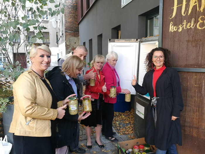 Community fridge – let's share with each other