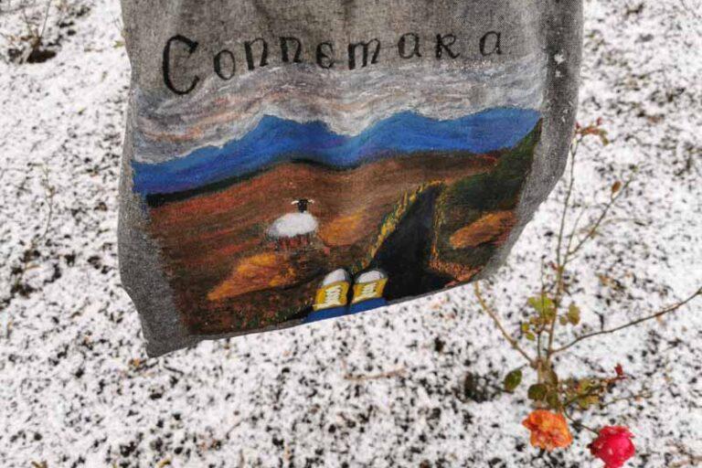 Torby płócienne ręcznie malowane przez Annę Rychert