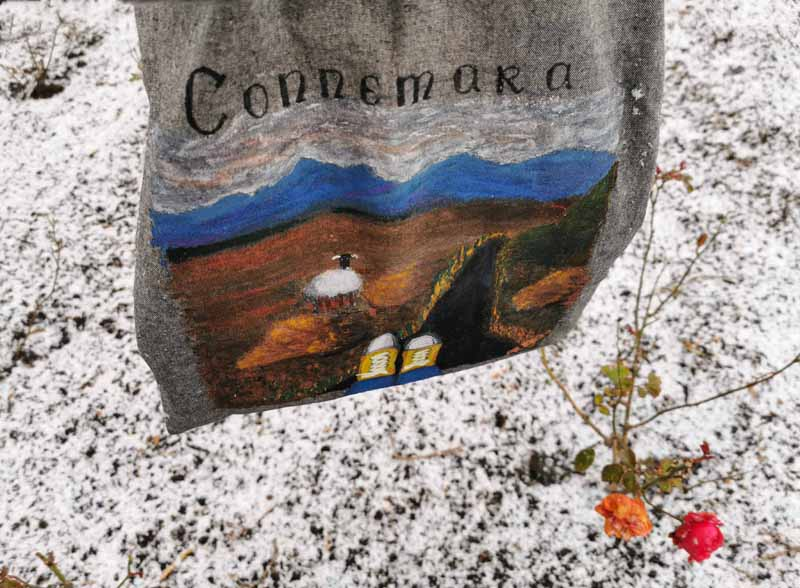 Hand-painted canvas bags by Anna Rychert
